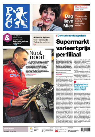 Provinciale Zeeuwse Courant 2018-02-27