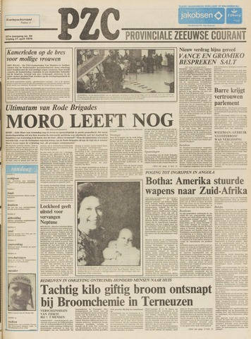 Provinciale Zeeuwse Courant 1978-04-21
