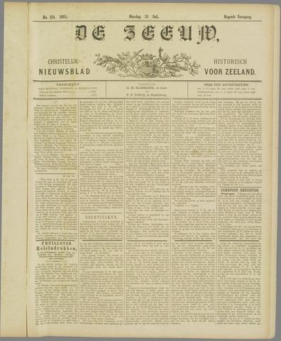 De Zeeuw. Christelijk-historisch nieuwsblad voor Zeeland 1895-07-23