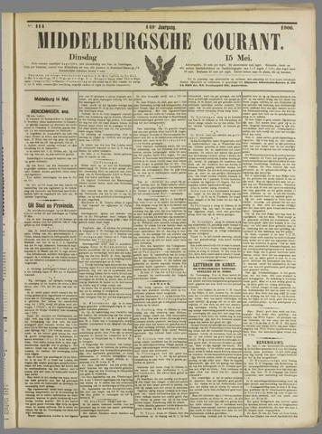 Middelburgsche Courant 1906-05-15