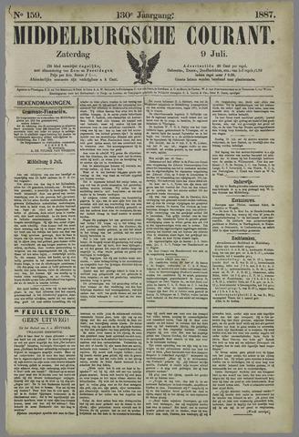 Middelburgsche Courant 1887-07-09