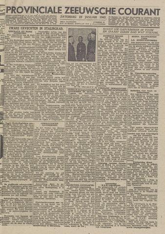 Provinciale Zeeuwse Courant 1943-01-23