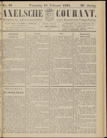 Axelsche Courant 1911-02-15