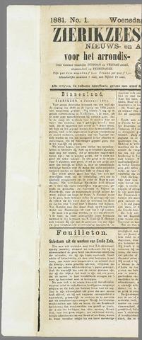 Zierikzeesche Courant 1881