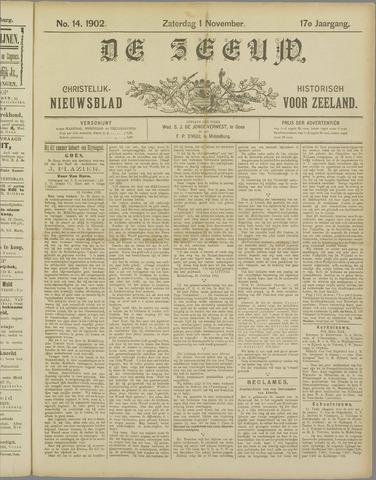 De Zeeuw. Christelijk-historisch nieuwsblad voor Zeeland 1902-11-01