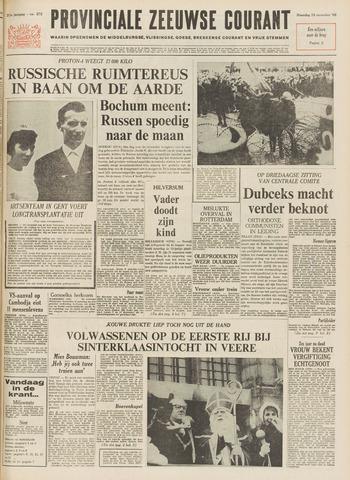 Provinciale Zeeuwse Courant 1968-11-18