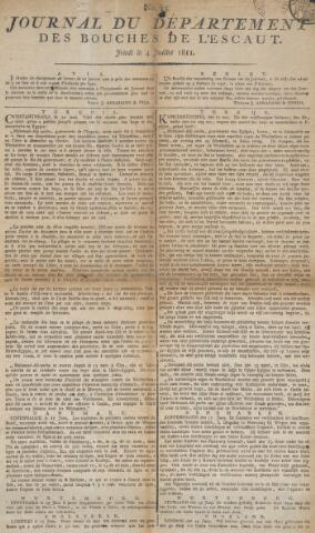 Middelburgsche Courant 1811-07-04