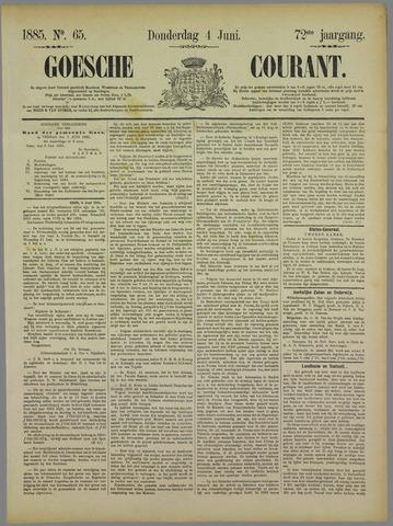 Goessche Courant 1885-06-04