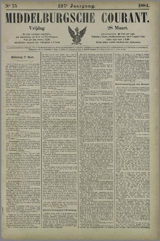 Middelburgsche Courant 1884-03-28
