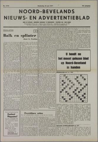 Noord-Bevelands Nieuws- en advertentieblad 1977-06-30