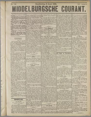 Middelburgsche Courant 1921-06-09