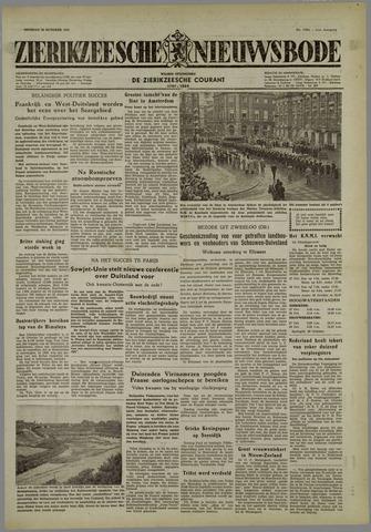 Zierikzeesche Nieuwsbode 1954-10-26