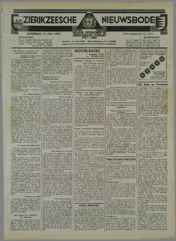 Zierikzeesche Nieuwsbode 1937-07-17