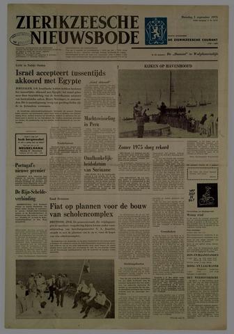 Zierikzeesche Nieuwsbode 1975-09-01