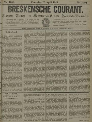Breskensche Courant 1911-04-26