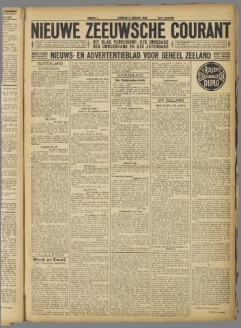 Nieuwe Zeeuwsche Courant 1924-01-08