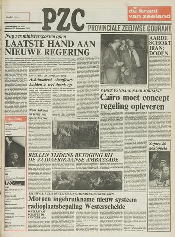 Provinciale Zeeuwse Courant 1977-12-12