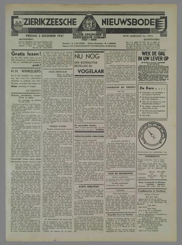 Zierikzeesche Nieuwsbode 1937-12-03