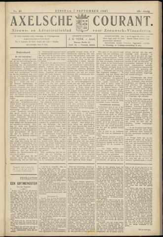 Axelsche Courant 1937-09-07