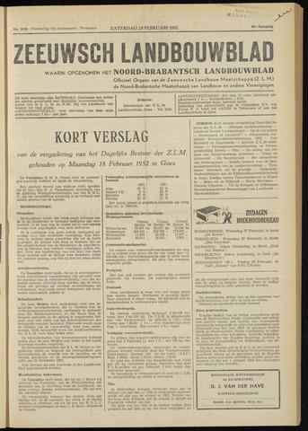 Zeeuwsch landbouwblad ... ZLM land- en tuinbouwblad 1952-02-23