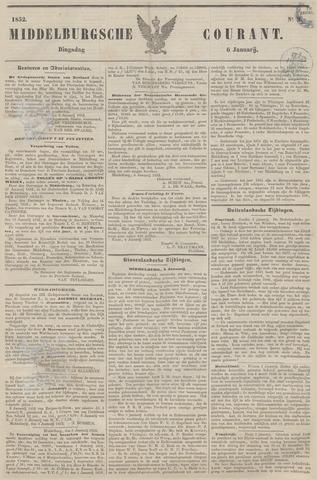 Middelburgsche Courant 1852-01-06