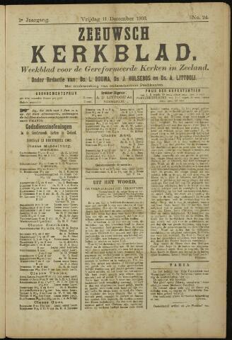 Zeeuwsche kerkbode, weekblad gewijd aan de belangen der gereformeerde kerken/ Zeeuwsch kerkblad 1903-12-11