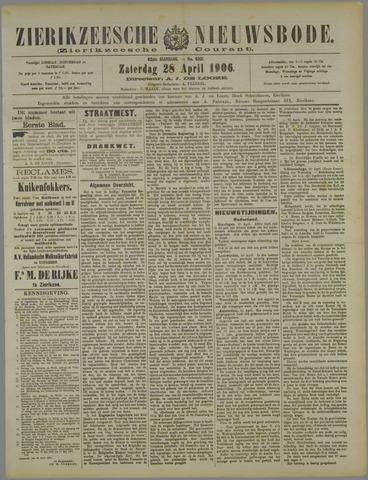 Zierikzeesche Nieuwsbode 1906-04-28