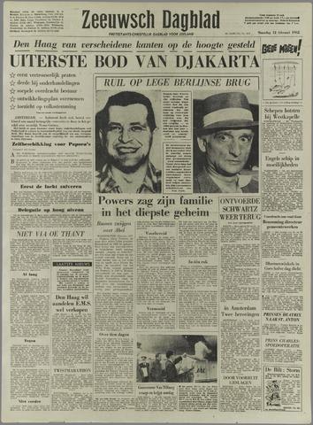 Zeeuwsch Dagblad 1962-02-12