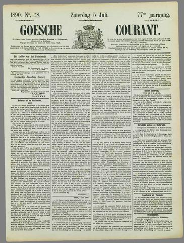 Goessche Courant 1890-07-05