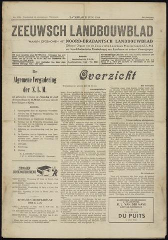 Zeeuwsch landbouwblad ... ZLM land- en tuinbouwblad 1953-06-13