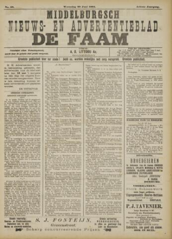 de Faam en de Faam/de Vlissinger 1904-06-29