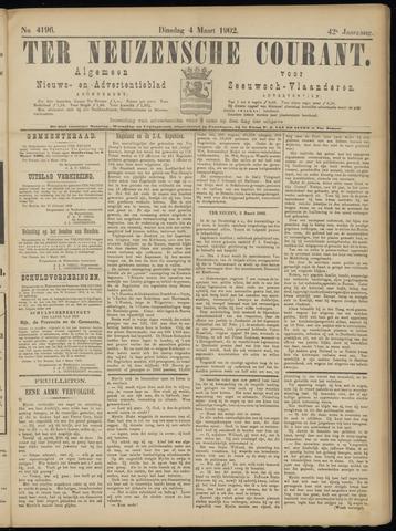 Ter Neuzensche Courant. Algemeen Nieuws- en Advertentieblad voor Zeeuwsch-Vlaanderen / Neuzensche Courant ... (idem) / (Algemeen) nieuws en advertentieblad voor Zeeuwsch-Vlaanderen 1902-03-04