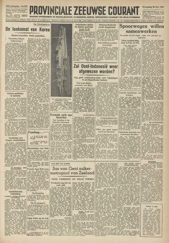 Provinciale Zeeuwse Courant 1947-10-29