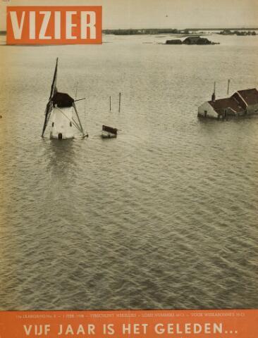 Watersnood documentatie 1953 - tijdschriften 1958