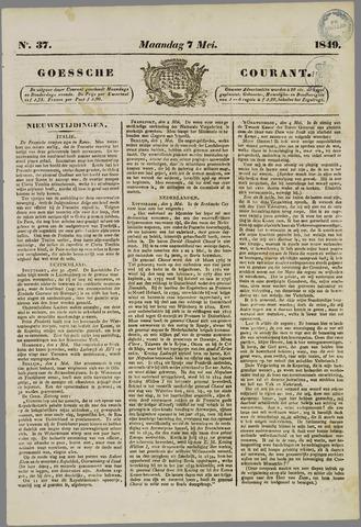 Goessche Courant 1849-05-07