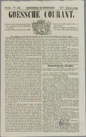 Goessche Courant 1865-02-16