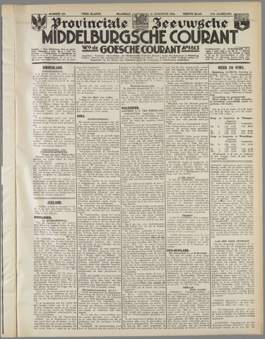 Middelburgsche Courant 1936-08-31
