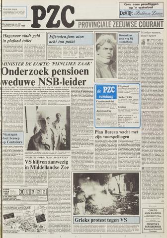 Provinciale Zeeuwse Courant 1986-03-27