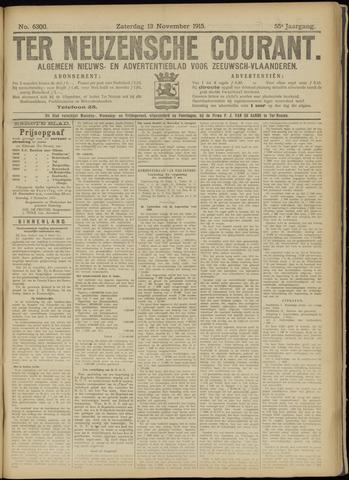 Ter Neuzensche Courant. Algemeen Nieuws- en Advertentieblad voor Zeeuwsch-Vlaanderen / Neuzensche Courant ... (idem) / (Algemeen) nieuws en advertentieblad voor Zeeuwsch-Vlaanderen 1915-11-13