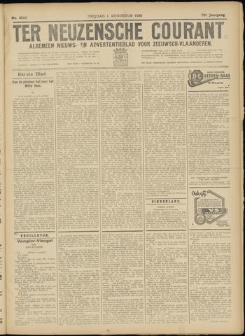 Ter Neuzensche Courant. Algemeen Nieuws- en Advertentieblad voor Zeeuwsch-Vlaanderen / Neuzensche Courant ... (idem) / (Algemeen) nieuws en advertentieblad voor Zeeuwsch-Vlaanderen 1930-08-01