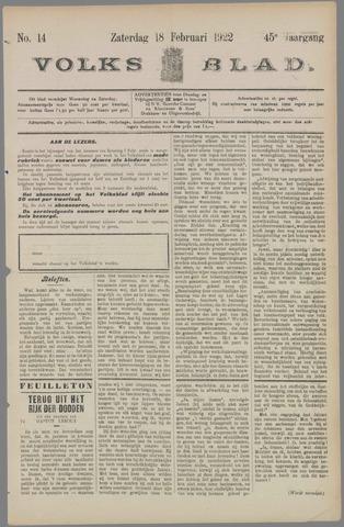 Volksblad 1922-02-18