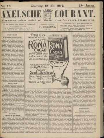Axelsche Courant 1912-05-18