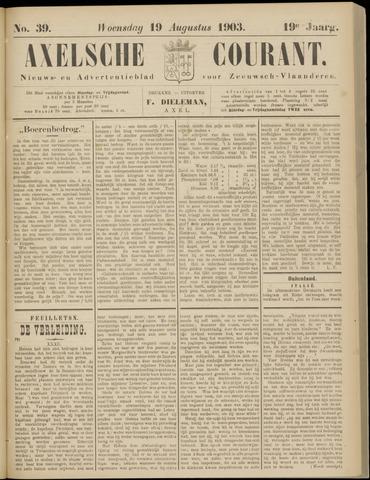 Axelsche Courant 1903-08-19