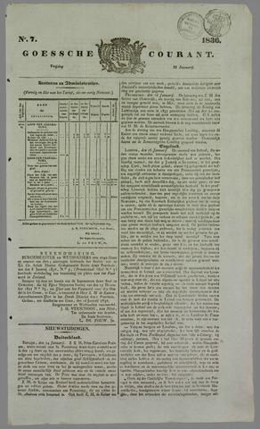 Goessche Courant 1836-01-22