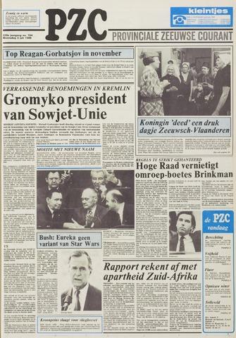 Provinciale Zeeuwse Courant 1985-07-03