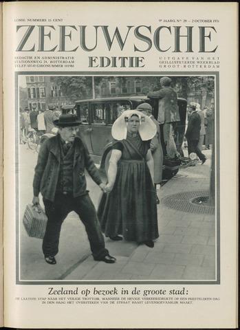 Ons Zeeland / Zeeuwsche editie 1931-10-02