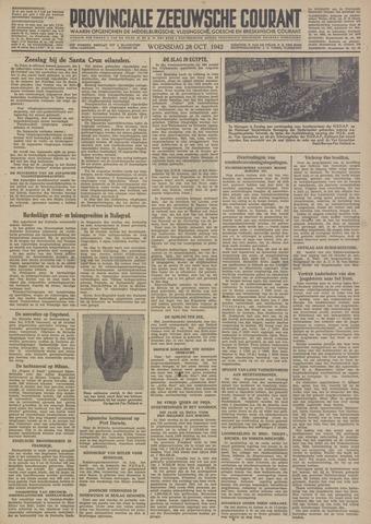 Provinciale Zeeuwse Courant 1942-10-28