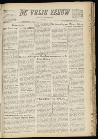 de Vrije Zeeuw 1947-11-11