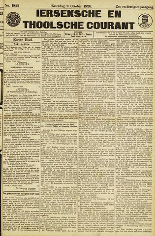 Ierseksche en Thoolsche Courant 1920-10-09