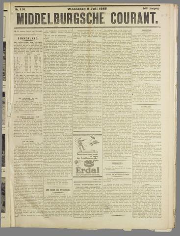 Middelburgsche Courant 1925-07-08